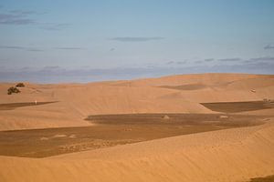 Espagne : les dunes de Maspalomas Gran Canaria sur Marianne van der Zee