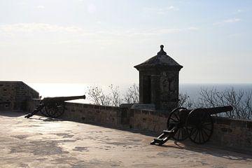 Kanonnen tegen zonsondergang von Mr Greybeard