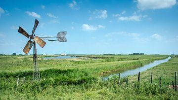 Landschap met windmolen von Onno Feringa