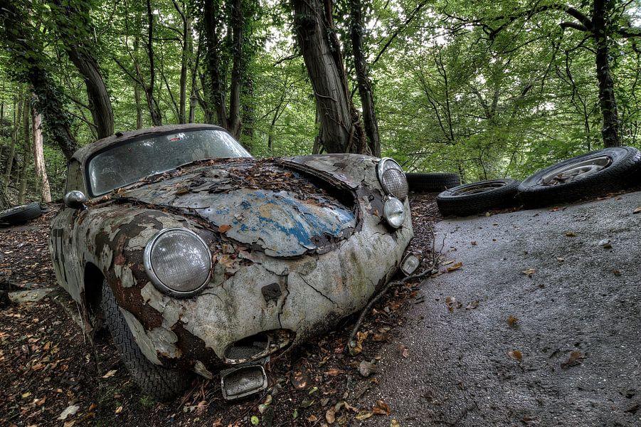 Roestige Porsche van Kristel van de Laar