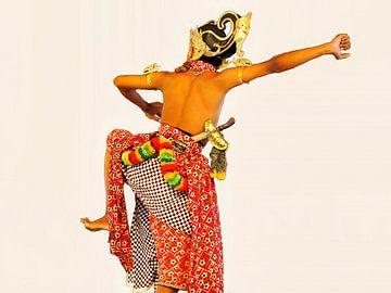 Javanese Dancer van Eduard Lamping