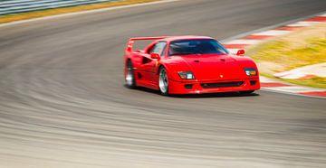 Ferrari F40 supercar uit de jaren tachtig van Sjoerd van der Wal