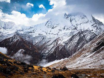 Nepal - Annapurna Track Himalaya - Annapurna Basecamp van Rik Pijnenburg