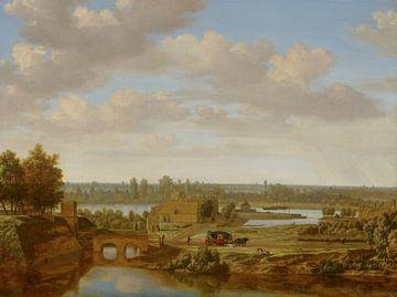 Arnhem met de Rijnpoort van