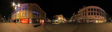 Panorama Pensmarkt Den Bosch van Leo van Valkenburg