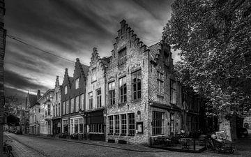 Historisch Brugge in z/w