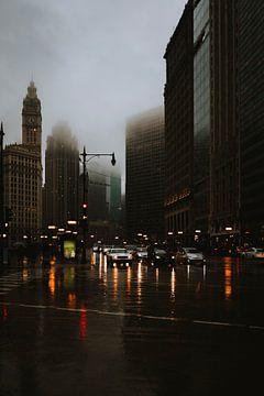 Rijden in de regen van Maikel Claassen Fotografie