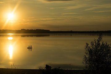 Sonnenuntergang am Meer von Melissa Zwiep
