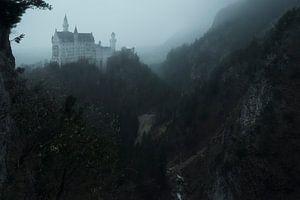 Sprookjeskasteel in de mist von Jo Haegeman