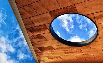 Hole in Dach von Annemiek van Eeden