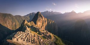 Machu Picchu Panorama 2:1 - zonder mensen