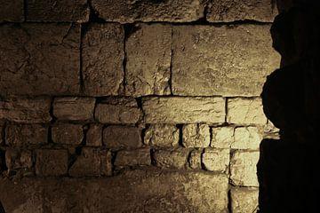 Die Klagemauer von innen. Die Verliese des Tempelbergs. Israel, Jerusalem: Die Überreste des zweiten von Michael Semenov