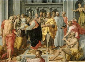 Besuch (Das Treffen von Maria und Elisabeth), Pellegrino Tibaldi