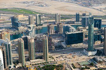 Wolkenkrabbers in Dubai van Edsard Keuning