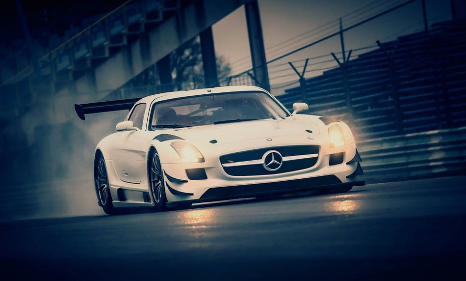 Racing Mercedes @ Vijverberg Trofee