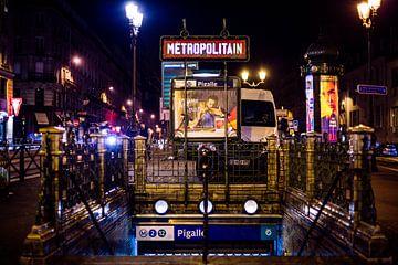"Frankrijk Metro ""Pigalle"""