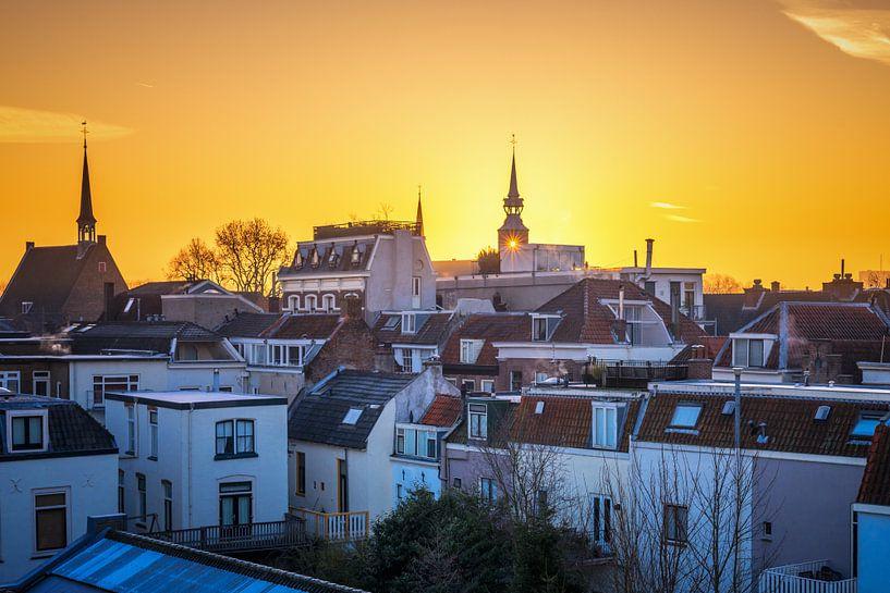 Golden Utrecht van Sander Peters Fotografie