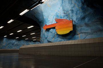 U-Bahn Stockholm von Kevin IJpelaar