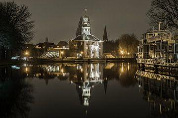 Zijlpoort in Leiden von Dirk van Egmond