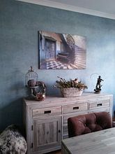 Kundenfoto: Das Klavier und die Treppe von Truus Nijland