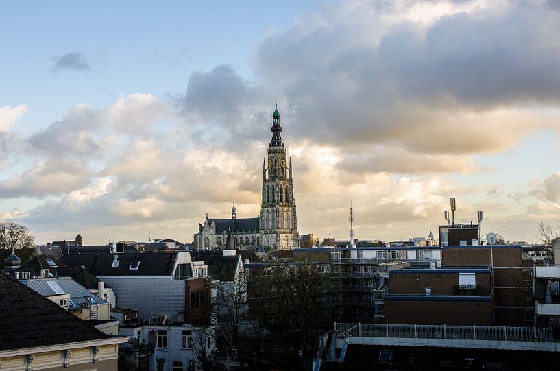 Onze Lieve vrouwekerk in Breda van Ricardo Bouman   Fotografie