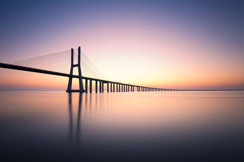 Ponte Vasco Da Gama von Christophe Staelens