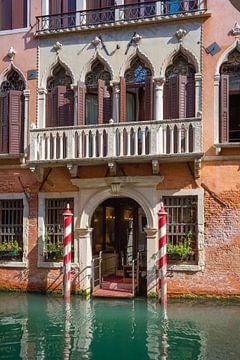 Historische Fassade in Venedig