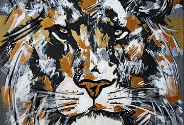 Der König der Löwen von Kathleen Artist Fine Art