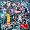 """Collage """"Höre auf deine innere Stimme"""" von Ina Wuite Miniaturansicht"""