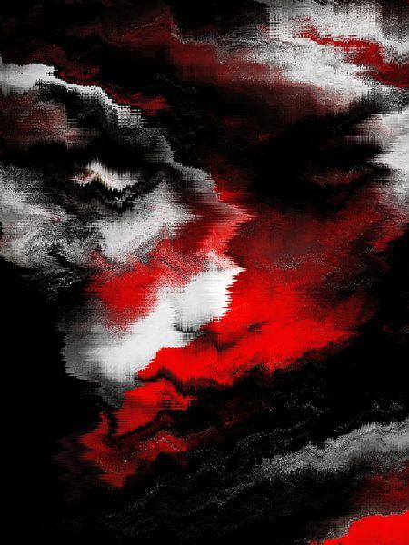 The abstract face van Gabi Hampe