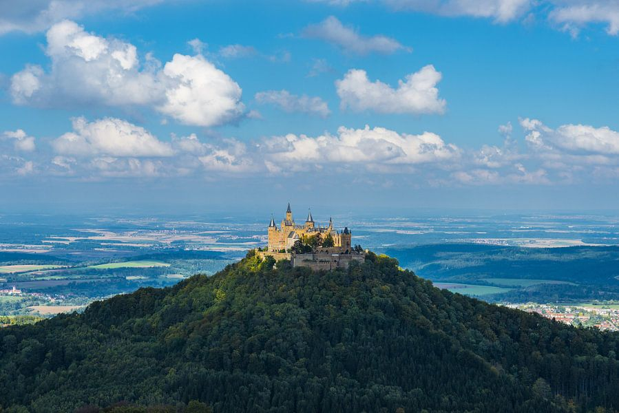 Hohenzollern Castle van Walter G. Allgöwer