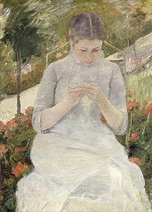 Mary Cassatt. Girl in the Garden