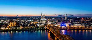 Köln Panorama van davis davis