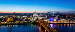 Köln Panorama van