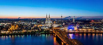 Köln Panorama von davis davis