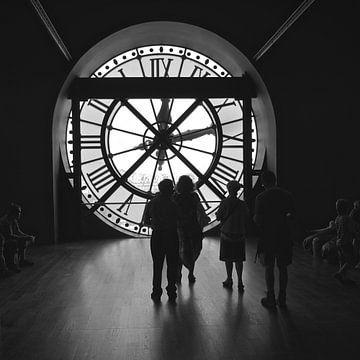 """ watch the time goes by"" van Bert Bouwmeester"