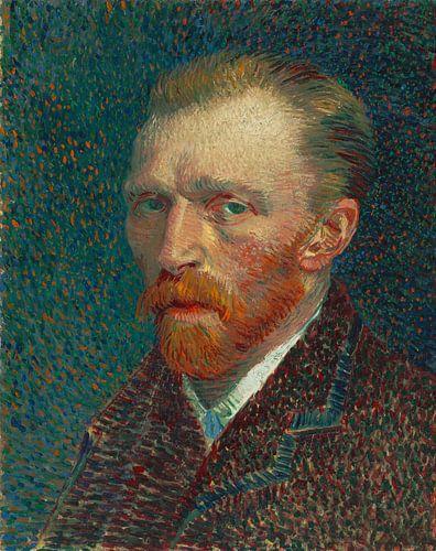 Vincent van Gogh. Self portrait von 1000 Schilderijen