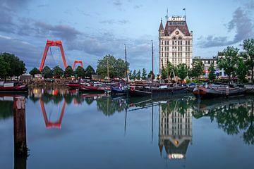 Oude Haven in Rotterdam van Annette Roijaards