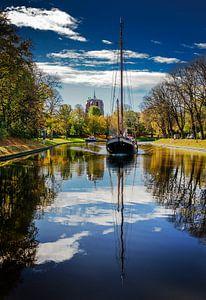 Stadsgracht Leeuwarden en Oldehove