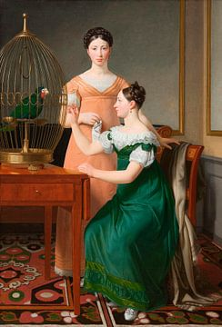 Die älteren Töchter von Mendel Levin Nathanson, Christoffer Wilhelm Eckersberg