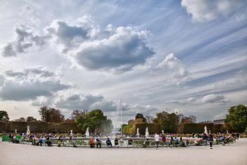 Jardin des Tuileries, Parijs van Arie Storm