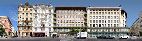 Wenen | Wienzeilenhaeuser van Panorama Streetline