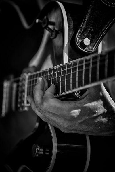 Gitarist van Rob van der Teen