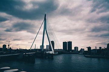 Erasmusbrug - Rotterdam van Norbert de  Krijger