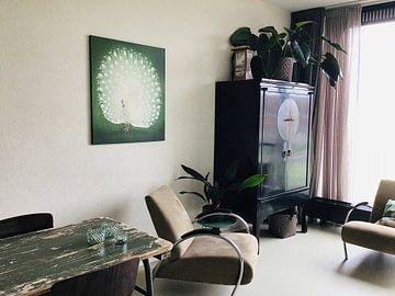 Klantfoto: Peacock, Ohara Koson
