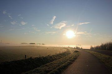 Texel Landschap 001 van Starworks Lien van der Star