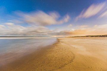 Domburg strand nacht 2 von Andy Troy