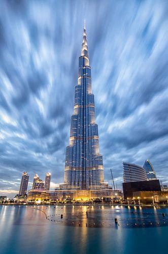 Burj Khalifa van