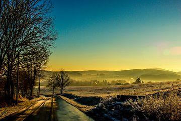 clear, cold winter air van Norbert Sülzner