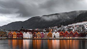 Bryggen, Bergen von Michael Fousert